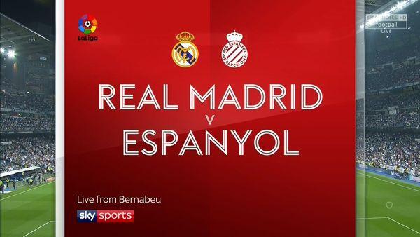 Horario y dónde ver: Real Madrid vs. Espanyol