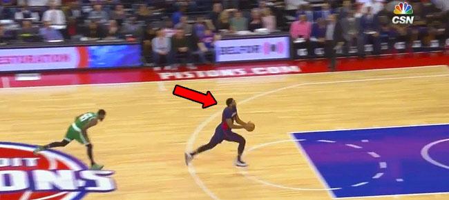 Andre Drummond - Shaqtin' A Fool Moment vs Celtics (VIDEO)