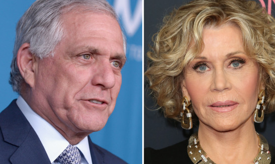 Jane Fonda says Les Moonves ouster is 'only the beginning'