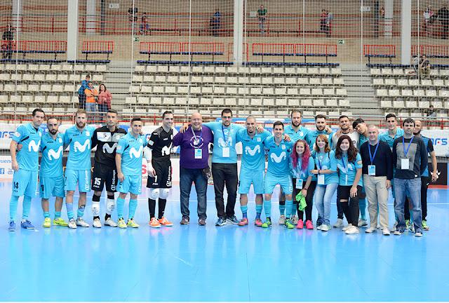 Disfruta del Fútbol Sala y del Movistar Inter Futsal con las Experiencias 'Movistar Likes'