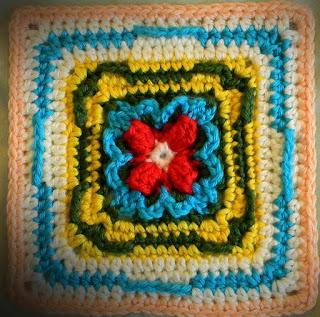 "Free Granny Square Crochet Pattern - Ursa Major 6"""