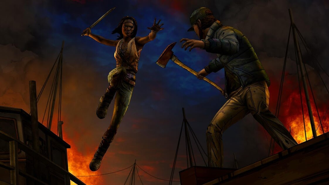 The Walking Dead: Michonne v 1.13 apk mod full VERSÃO COMPLETA - ALL GPU