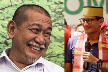 Deddy Mizwar Jadi Jubir Jokowi-Ma'ruf, Respon Sandiaga Uno Tak Terduga