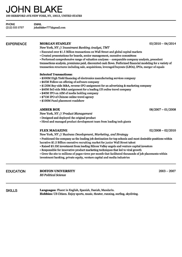 Resumonk. 79 Exciting How To Make A Free Resume Template. Free
