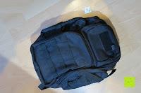 ausgepackt: Lalawow Sling Bag taktisch Rucksack Daypack Fahrradrucksack Umhängetasche Schultertasche Crossbody Bag