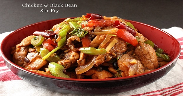 Chicken And Black Bean Stir Fry Recipe