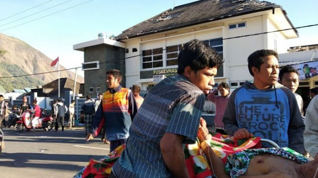 Update: Korban Gempa di Lombok 13 Orang Meninggal Dunia