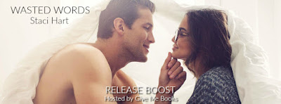 Release Boost: Wasted Words by Staci Hart