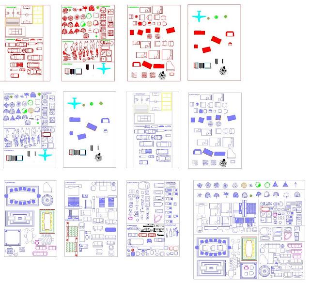 Favorit Engineering et Architecture: Nouvelle bibliothèque de bloc Autocad  ZF37