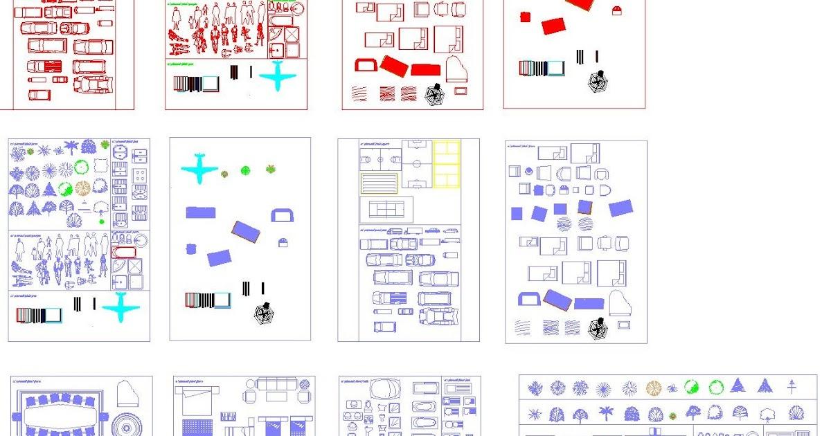 Beliebt Engineering et Architecture: Nouvelle bibliothèque de bloc Autocad  HA89