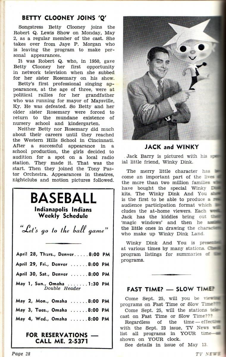 Garage Sale Finds: TV News for 1955