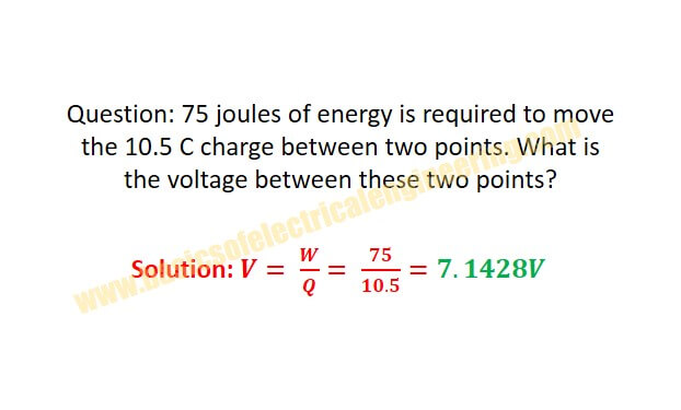 energy-to-voltage-formula
