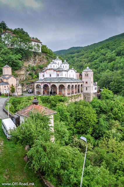 St. Joachim #Osogovski Monastery, Kriva Palanka, #Macedonia