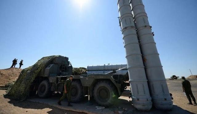 شاهد بالفيديو لحظة وصول إس-300 إلى الأرض السورية.