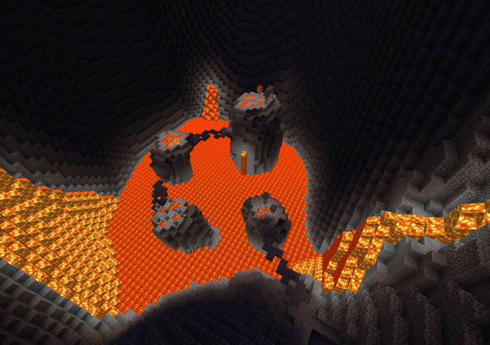 Volcanic Parkour Map - Minecraft PE ~ Guide Craft Indonesia