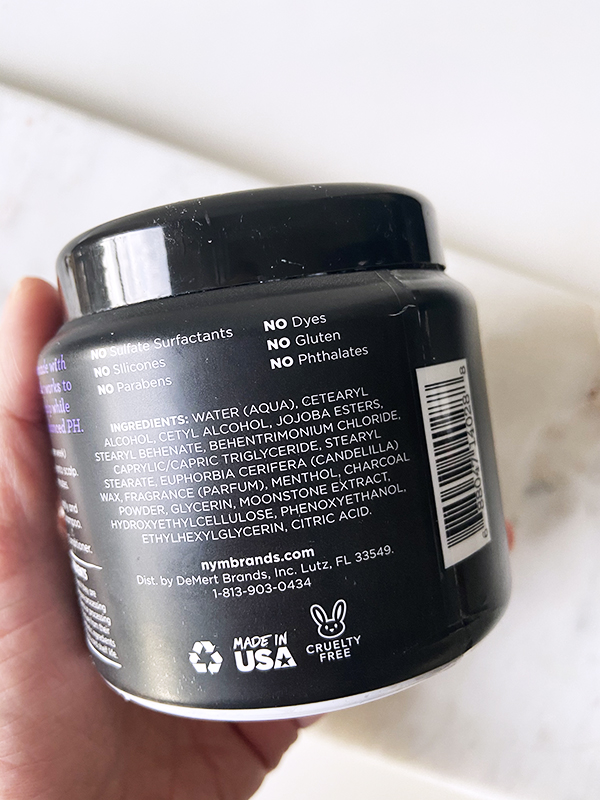 Not Your Mother's Activated Bamboo Charcoal & Purple Moonstone Restore & Reclaim Scalp Scrub ingredients and formula information