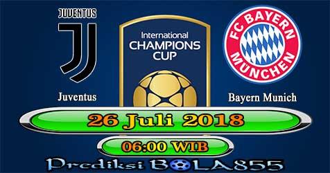 Prediksi Bola855 Juventus vs Bayern Munich 26 Juli 2018
