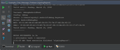 Android Studio - Message Chat Firebase