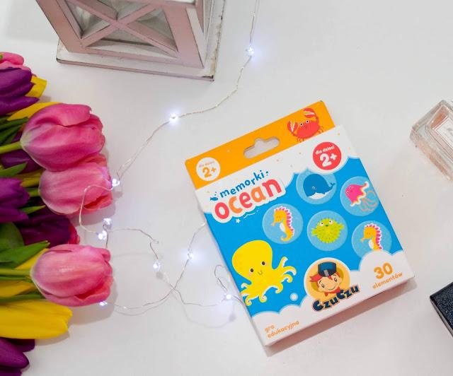 Czu Czu Memory gra dla dzieci wersja ocean