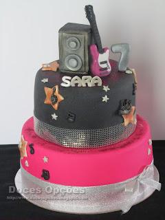 Bolo para o 7º aniversário da Sara