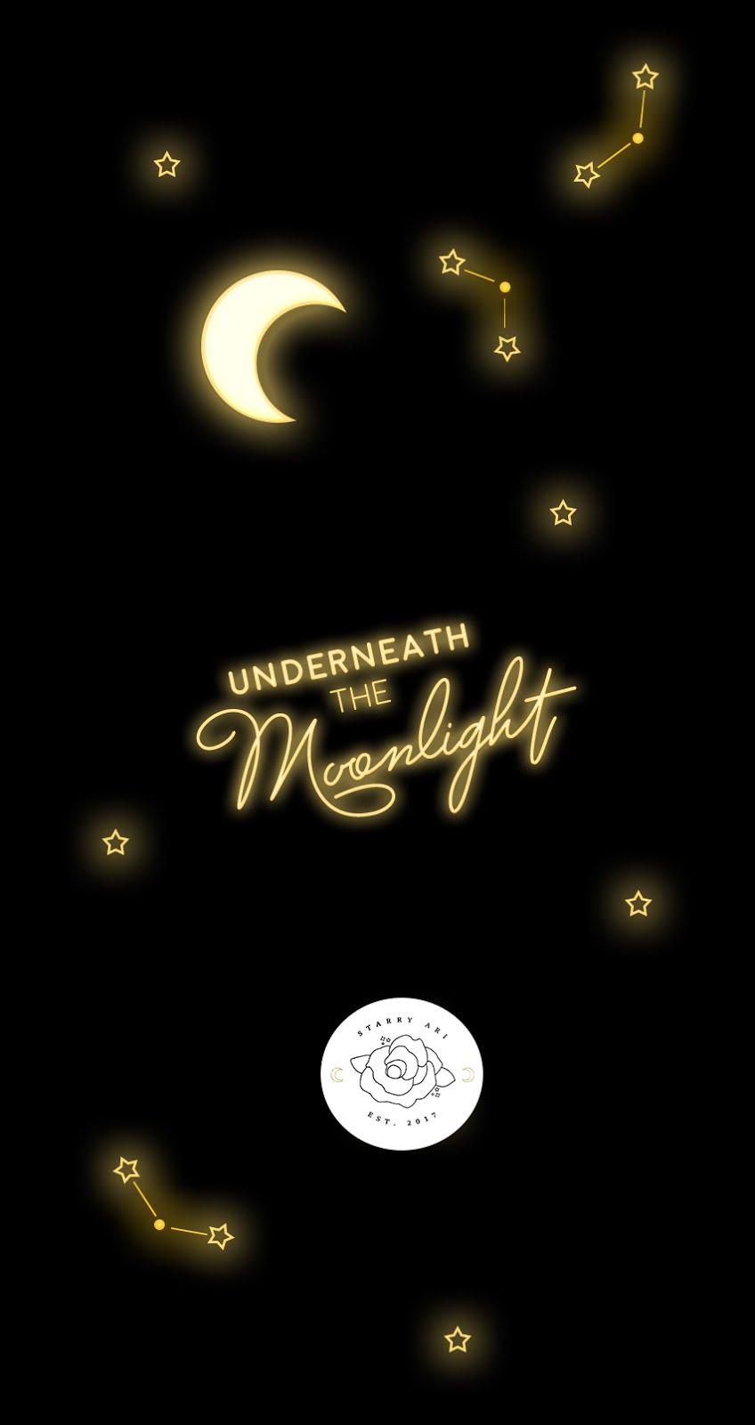 Free Dreamy Phone Wallpaper Underneath The Moonlight