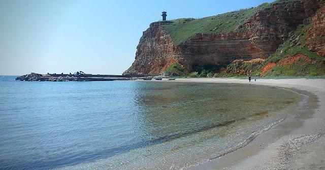 девствен плаж северно черноморие