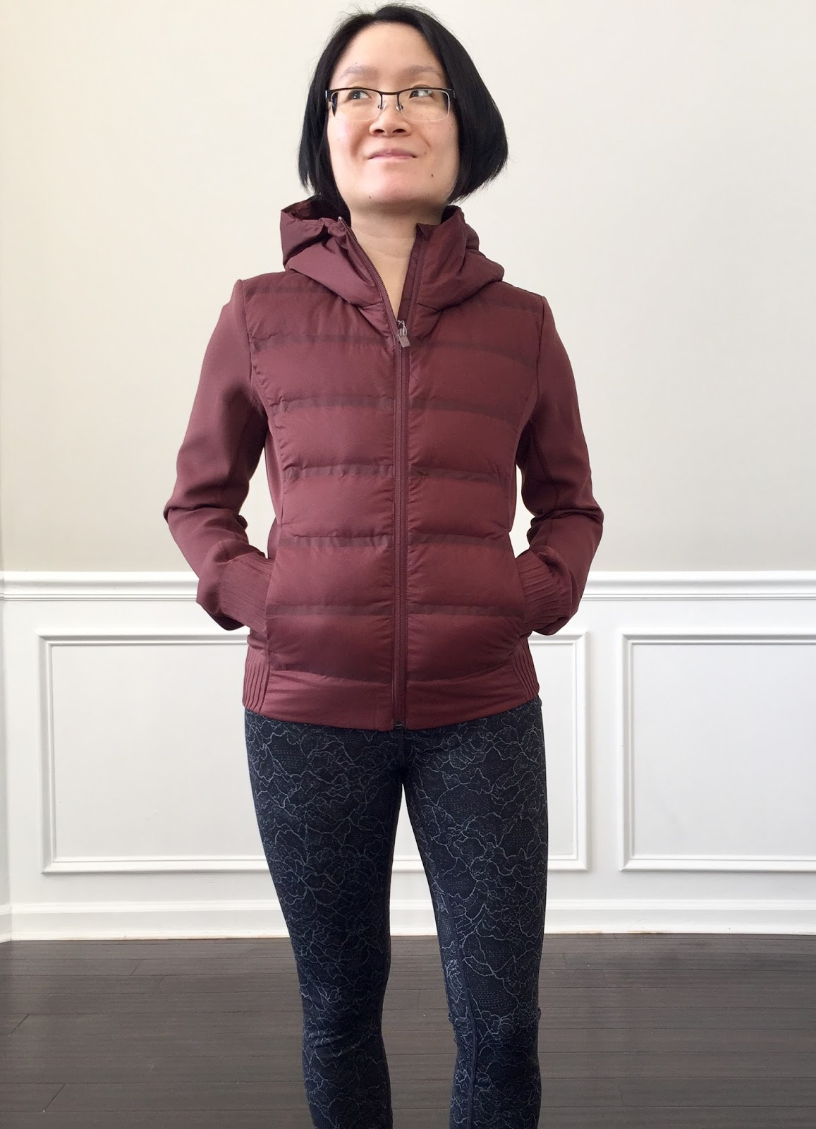 2fc93473d Petite Impact: Fit Review Friday! Lululemon Down & Around Jacket ...