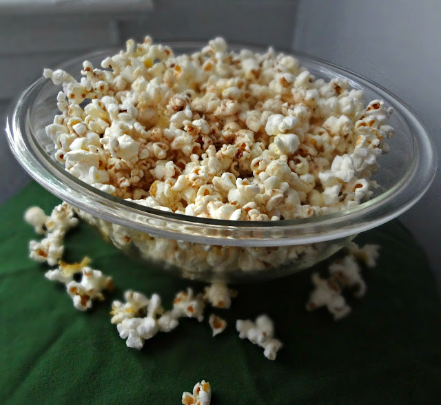 Browned Butter Popcorn