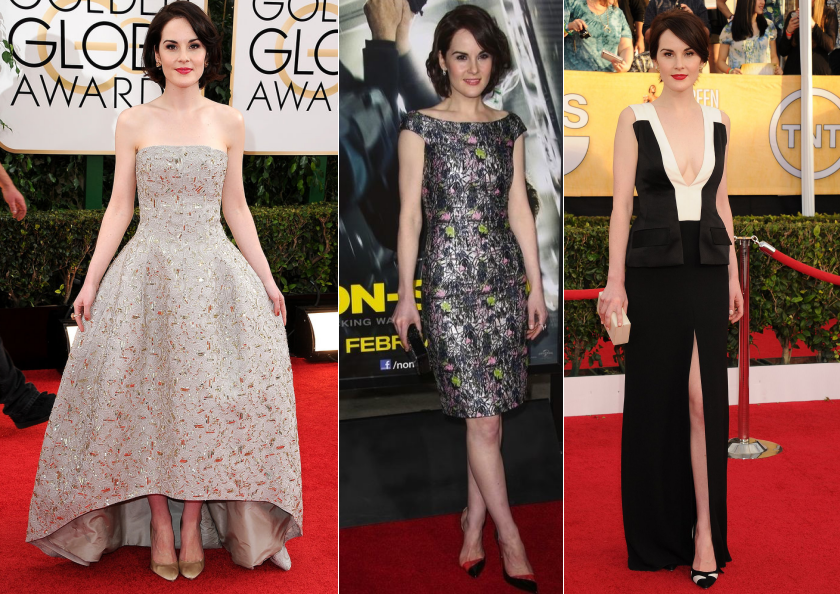 best dressed michelle dockery