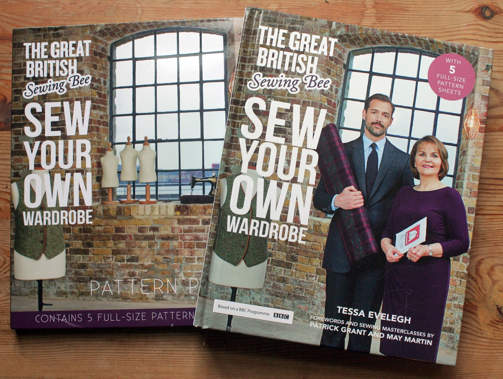 The Butterfly Balcony Review of The Great British Sewing Bee: Sew Your Own Wardrobe