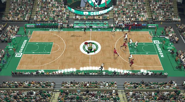 Manni Live 2k Patches Boston Celtics Td Garden V2