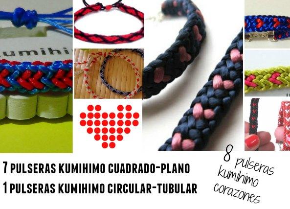 cordón, regalo, kumihimo, telares, nudos, corazones, manualidades