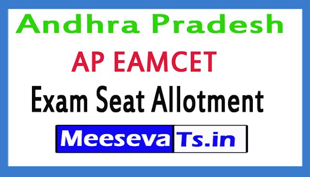 Andhra Pradesh AP EAMCET Exam Seat Allotment