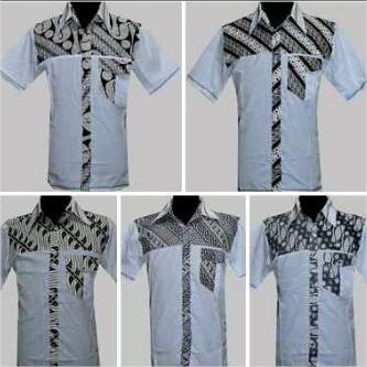 Model Kemeja dan Kaos Batik Terbaru 2016 Cewe dan Cowo