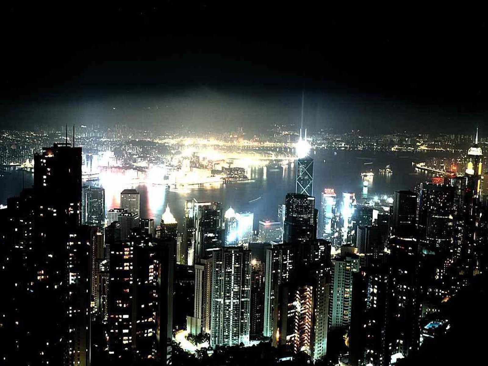 wallpapers: Night City Glow