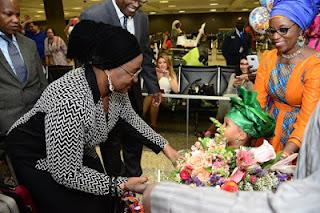 , Mrs Aisha Buhari's Visit to United States A Photoshop? Ekiti State PDP Claimed, Latest Nigeria News, Daily Devotionals & Celebrity Gossips - Chidispalace