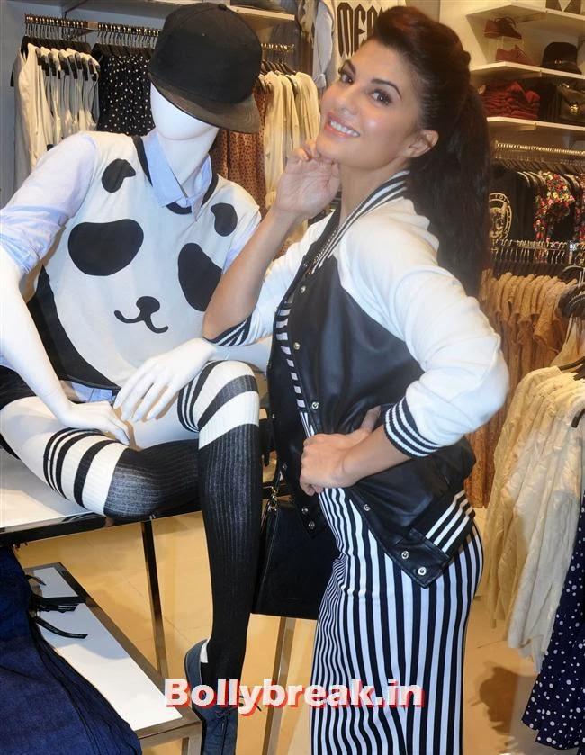 Jacqueline Fernandez Launches Forever 21, Jacqueline Fernandez Forever 21 Store Launch Photos