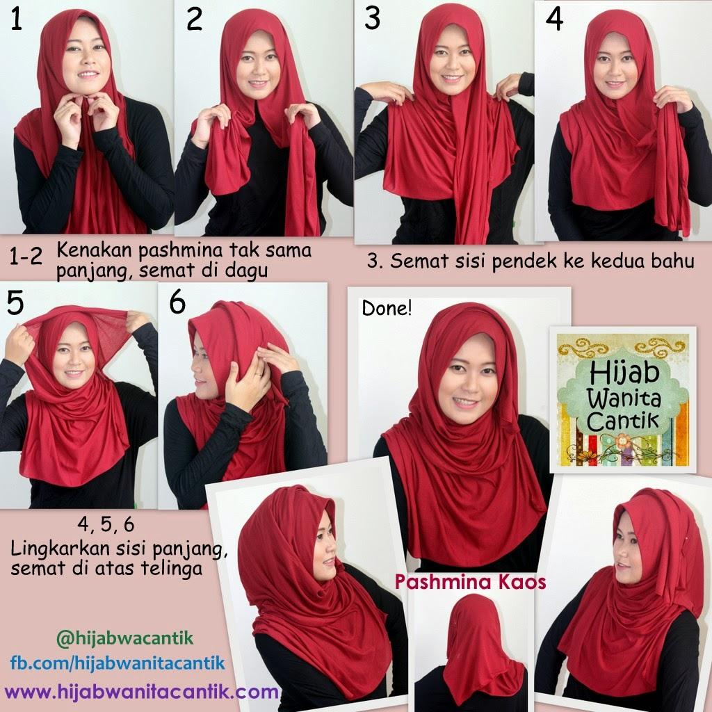Tutorial Hijab Pashmina Ima Simple BERITA HIJAB