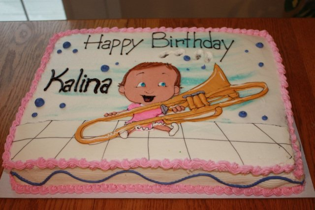 Kalina Oldhams 0 Birthday Party