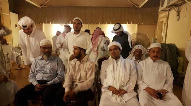 Rizieq Shihab di Arab