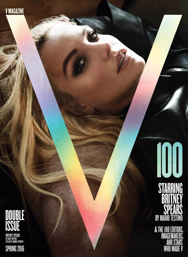 Britney Spears covers V Magazine Spring 2016