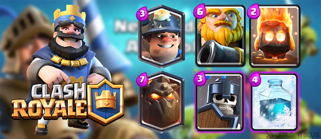 UPDATE CLASH ROYALE APK 8 AUGUST 2016 NEW (CHANGES BALANCE)