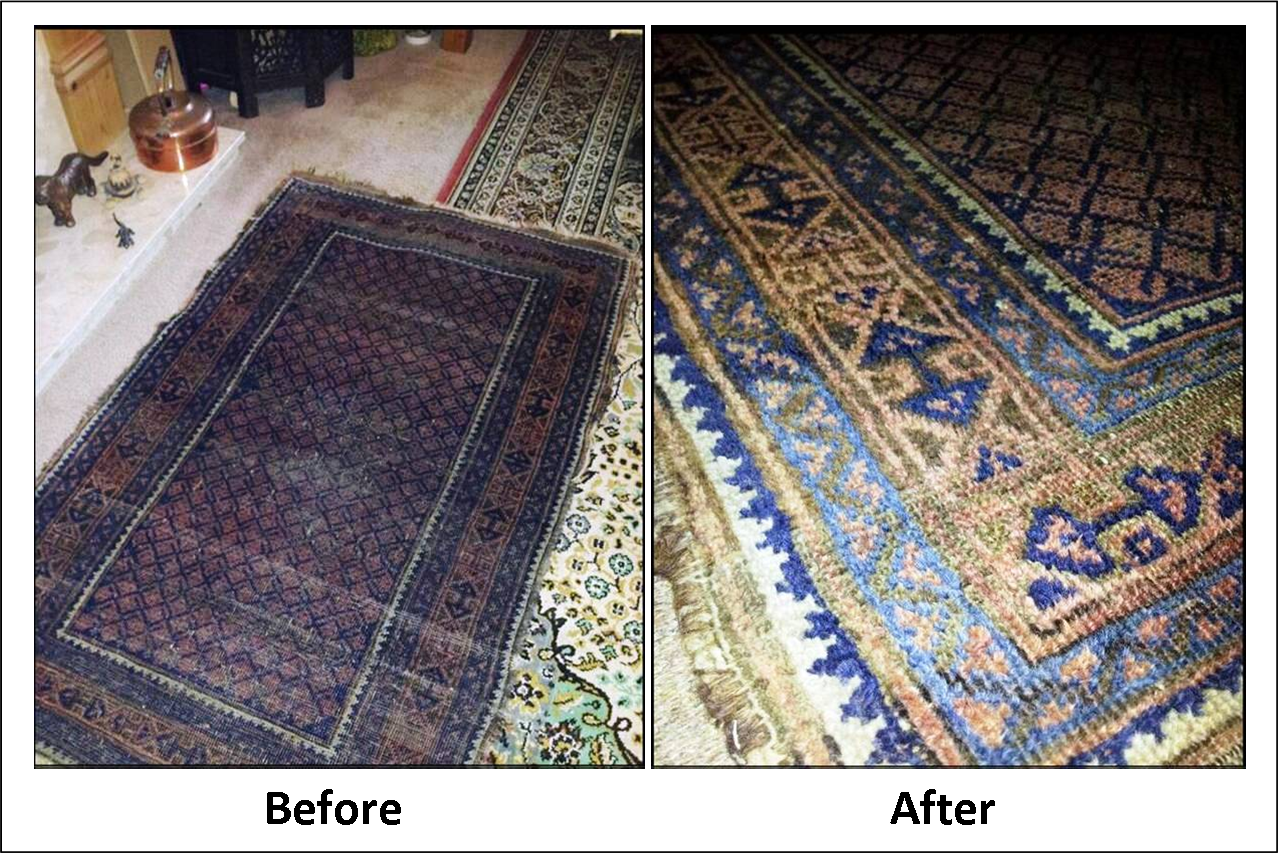 To Clean The Woollen Rug It Was First Wet With Warm Water Before Having Soda Crystals Sprinkled Onto After Leaving Them For A Few Minutes Carpet