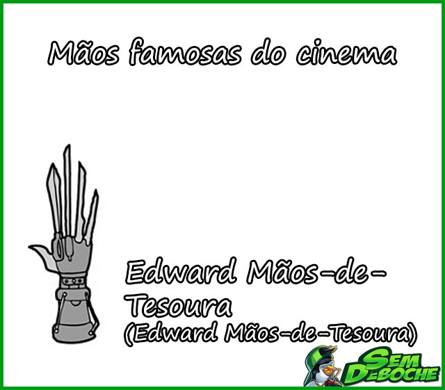 Edward Mãos-de-Tesoura