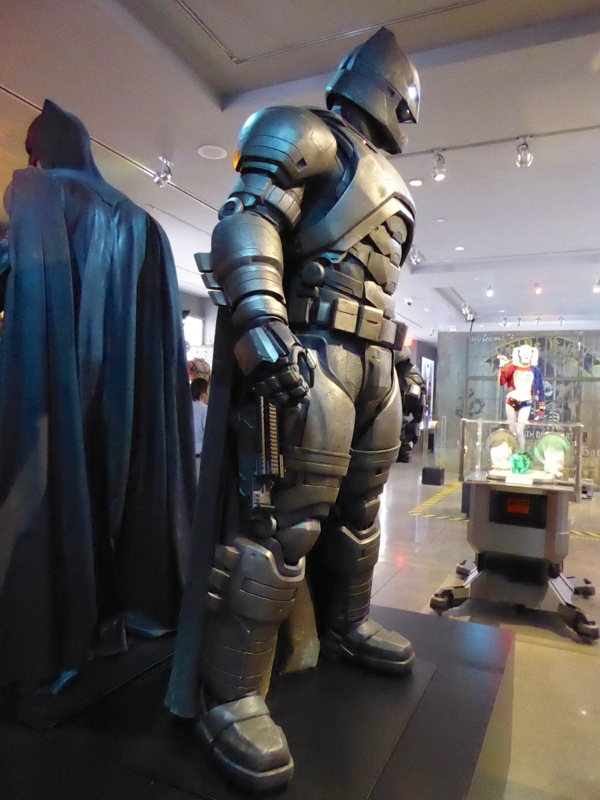 Armoured Batsuit Batman v Superman
