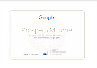 Google Digital training - Prospero