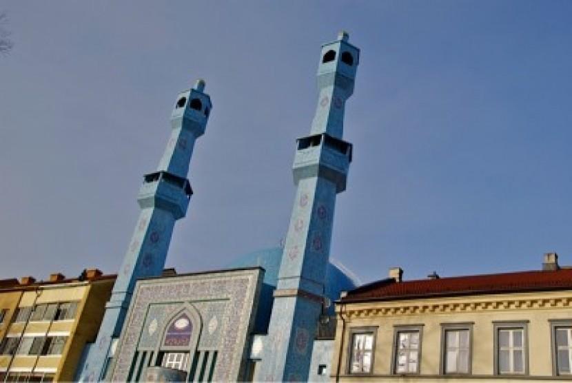 Masjid di Norwegia Jadi Sasaran Penembakan