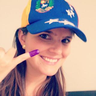 Yo vote por mi país, yo soy Venezuela