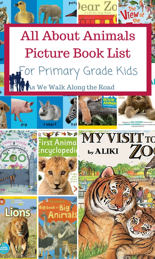 Preschool animals resources