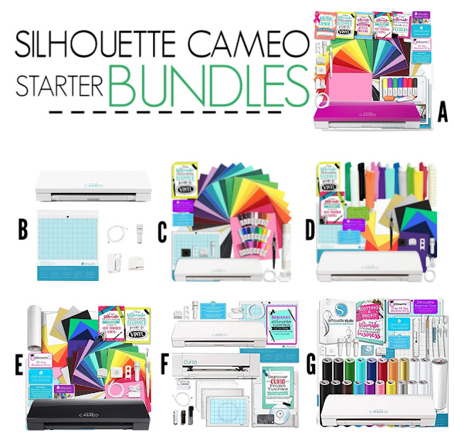 silhouette cameo bundles, best Silhouette cameo bundle, silhouette cameo bundle beginner